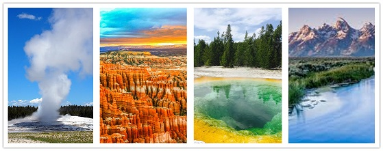 wonder travel|Excursión de 7 días al Gran Cañón-Antelope Canyon-Yellowstone NP-Grand Teton NP$799+