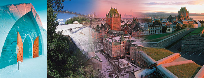 wondertravel|Ice Hotel & Quebec city 1 Day $24.99+