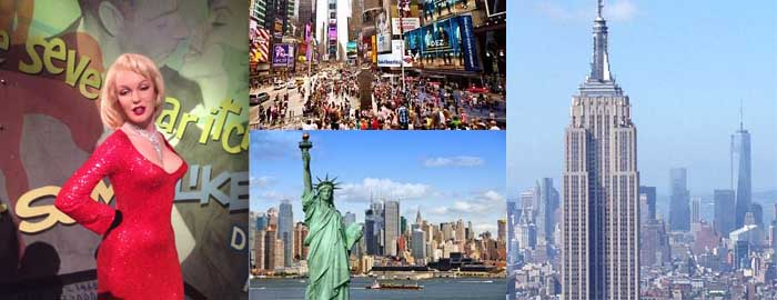 wonder travel|<p><strong>Bus tour package from Montreal to New York.&nbsp;New York by bus from Montreal: Montreal - New York by bus: organised travel New York: trip to New York from Montreal.</strong></p>  <p><strong>Day 1 Montreal - New York</strong> -<strong> </strong>We will leave Montreal at 6:00am (except during holidays). After having&nbsp;a delicious lunch in Albany, we will arrive in New York City in the afternoon. You will go to the top of&nbsp;<strong>The Rockefeller Observation Deck</strong>, which is a very&nbsp;interesting experience in terms of history and scenery. We will an enjoy exceptional view of NYC from the newly opened Observation Deck on the 70th floor of Rockefeller Center, in the heart of midtown Manhattan. Then you can visit&nbsp;<strong>Madame Tussaud Wax Museum</strong>&nbsp;and the famous&nbsp;<strong>Ripley&rsquo;s Believe It or Not museum</strong>, both located in Times Square. Afterwards, you can go shopping on Fifth Avenue, it is considered one of the most expensive and elegant streets in the world. You will also have free time in Times Square.&nbsp;At 8:00 PM,&nbsp;we will be picked up by the bus and head to the hotel (Ramada, Days inn, Best Western&nbsp;or&nbsp;similar in New Jersey).&nbsp;</p>  <p><strong>Day 2 New York City</strong> - After breakfast, we will embark on an hour-long cruise to visit the&nbsp;<strong>Statue of Liberty&nbsp;</strong>and all of Manhattan Island from South Seaport. Later on, we will stop at Wall Street and Ground Zero-the Memorial World Trade Center Site. After lunch, we will go to&nbsp;<strong>the Intrepid Sea Air-Space Museum,&nbsp;</strong>where we will have a chance to discover the famous Air-craft Carrier: USS Intrepid and lots of aircrafts. You also have free time in Manhattan and Times Square.<strong>&nbsp;</strong>Furthermore, at your leisure you can visit Central park and Chinatown. Around 8:30pm, we will be picked up by the bus and head to the hotel (Ramada, Days inn, Best Western&nbsp;or&nbsp;similar in New Jersey).</p>  <p><strong>Day 3 New York City </strong>- After breakfast, you&#39;ll have a whole new exciting day of free time in Manhattan. You will be dropped off in Times Square. You will have the entire day to yourself, so you can visit other landmarks such as Central Park. You will be picked up at the same place and will head back to the hotel at 8:30pm (Ramada, Days inn, Best Western&nbsp;or&nbsp;similar in New Jersey).</p>  <p><strong>Day 4 Woodbury Outlets - Montreal</strong> - After breakfast, we will head to the&nbsp;<strong>Woodbury Common Premium Outlets</strong>&nbsp;- the biggest and most famous outlet in North America.&nbsp;This&nbsp;outlet, features 240 of the most sought after, high-end fashion and retail brands in the world.&nbsp;Top brands such as&nbsp;Burberry, Coach, Nike, The North Face,&nbsp;Gucci, Armani, Chanel, Balenciaga, Prada&nbsp;and many more,&nbsp;offering truly&nbsp;amazing and great deals,&nbsp;and&nbsp;you can go shopping till you drop!&nbsp;After lunch, we will go back to Montreal.&nbsp;Before passing the Canadian customs, we will make a stop at the Duty Free Shop at the US border. We will arrive in Montreal&nbsp;around 9:00pm (Maybe later during the holidays).</p>  <p>Price includes: English/French Speaking Guide, Coach bus, 3 nights Hotel, Taxes, 3 simple breakfasts, the client&#39;s contribution to the Indemnity Fund amounting to $1.00 per $1,000 of travel services purchased.</p>  <p>Price excludes:</p>  <p>* Service charge for Driver &amp; guide: adults US$28, Children(0-12 years) US$20 (Service charge is payable by the number of the people you booked no matter how many show up)</p>  <p>&nbsp;* Entrance fees<strong>: You need to take at least 3 activities; otherwise, please choose New York 3 days </strong><strong>Independent free time&nbsp;</strong></p>  <p><strong>&nbsp;- </strong>Liberty Cruise: adults US$29, Children US$20 (3-11 years)<br /> &nbsp;- Rockefeller Centre: adults US$36, Children US$30 (6-11years)<br /> &nbsp;- Mdm. Tussauds: adult US$32, Children US$29 (3-11years)<br /> &nbsp;- Ripley&rsquo;s Believe It or Not: adult US$31, Children US$22 (4-11 years)<br /> &nbsp;- Intrepid Museum: adult US$32, Children US$25 (3-11 years)</p>  <p>&nbsp;* Travel insurance</p>  <p>&nbsp;* Meals</p>  <p><strong>Impotant Notice</strong>: In respect of the program, Wonder Travel reserves all rights to cancel or change the visit without notice depending on the customs formalities, weather and traffic, time changing or the closing day of tour sites, etc. Because of the delay in U.S. Customs during long weekends, and special opening hours of Woodbury Outlet during the holidays (Easter, Christmas, etc.), Wonder Travel reserves all rights to modify the itinerary without prior notification. Wonder Travel will not be held responsible for delays caused by accidents, breakdowns, bad road conditions, snow storms, detours, congestion or traffic and other conditions beyond its control. It will not be liable for damages that may result from failure to operate the start or to continue the journey if it deems prudent to do so. Wonder Travel may change the hotels or hotel locations without notice under the certain circumstance such as holidays, traffic, emergency in hotel, and so on. Each room contains one or two double beds in all hotels in North America. The tickets prices and meals can be changed according to the season without notice. All passengers must follow the group schedule. All spaces and seats on the bus are arranged by Wonder Travel in order of reservation. If the passenger does not show up, Wonder Travel has the right to use the space and seats. Wonder Travel does not accept any responsibility or liability for any loss resulting from force majeure or a trip without insurance. We recommend you to purchase personal travel insurance for protection. Your reservation with Wonder Travel confirms that you have read, understood and agreed to all of the above terms and conditions.&nbsp;Should the client have any questions to the above policies, please feel free to contact us for detailed information and consulting.</p>  <p>A valid passport (it must be valid for 6 months after the day coming back from the trip) is required to pass U.S. Customs. A valid U.S. visa is also required for citizens of countries that are not in the U.S. Visa Waiver Program. We do not endorse any considerable delays at customs because of personal mistakes made by travelers in the group. Therefore, the traveler will be obliged to leave the group from U.S. border and need to pay the return fee on their own.</p>  <p>Admission tickets bought through other sellers than Wonder Travel (e.g. City Pass) are not applicable to Wonder Travel tours.&nbsp;</p>  <p>Departure Point: 1242 Rue Stanley, Montreal (Green Line Metro Station Peel Exit St-Catherine, or Orange Line Metro Station Lucien-L&#39;Allier) or&nbsp;1875 Panama Street Brossard by request (Terminus Panama)</p>  <p>Indoor parking lot is available and affordable. The address for the parking lot is 1200 rue stanley, Montreal. More detail information please visit www.autoparcstanley.com</p>  <p>organised coach travel from Montreal - New York</p>