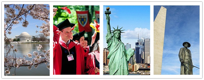 wondertravel|Boston,New York, Washington DC&Philadelphia 4 Jours $139.99+