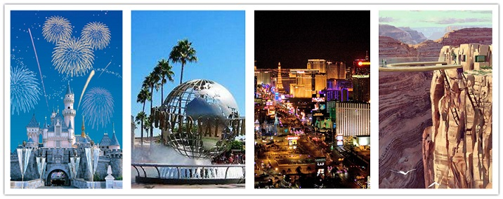 wonder travel|Los Angeles -Grand Canyon - Disneyland-Las Vegas-Hollywood Universal Studio 8 Jours $999+