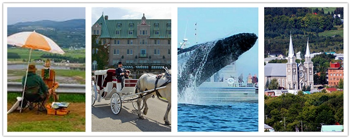 wondertravel|Charlevoix & Whale Watching 2 days $72.99+(4 star Hotel)