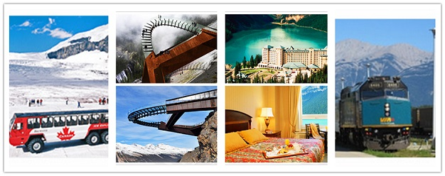 wonder travel|Rocky, lago Louise, Banff, tren VIA 7 días $ 699 / Q