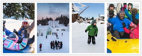 wondertravel|Quebec Ice Hotel & Valcartier Winter Playground 1 Day $19.99+