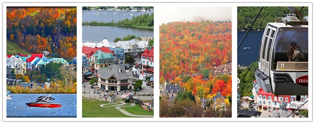 wondertravel|Beautiful Mont-Tremblant  1 day $19.99+ (April--October)