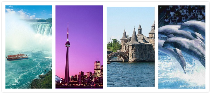 wondertravel|Ottawa,Toronto,1000islands&Niagara Falls 3 Days $89.99+