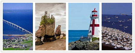 wonder travel|Provincia maritima:New Brunswick, Nova Scotia, PEI & Gaspe 6 Dias