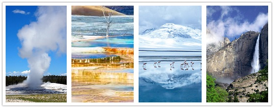 wonder travel|Yellowstone NP-Napa Valley-Lake Tahoe-Yosemite NP 7 Jours $699+