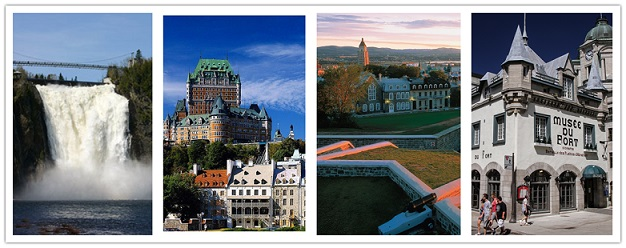 wonder travel|Quebec city & Montmorency Falls 1 Day Tour $19.99+