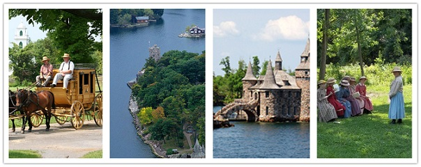 wondertravel|1000 islas & Upper Canada Village 1 día $24.99+ (no disponible en invierno)