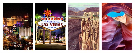 wonder travel|Los Angeles - Grand Canyon - Las Vegas 5 jours $299+